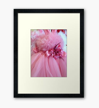 Dreams of Pink Framed Print