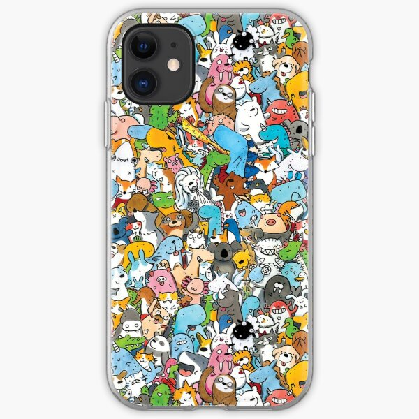 Creatures  iPhone Soft Case