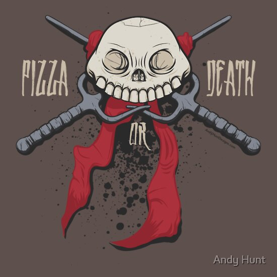 TShirtGifter presents: PIZZA or DEATH