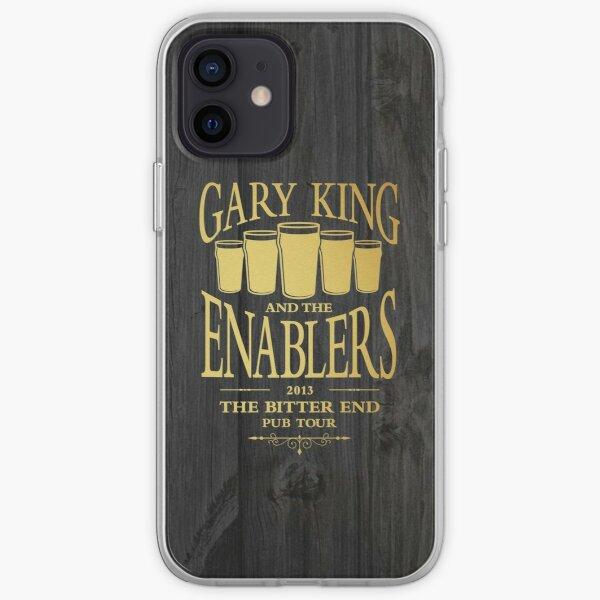 Gary King and the Enablers iPhone Soft Case