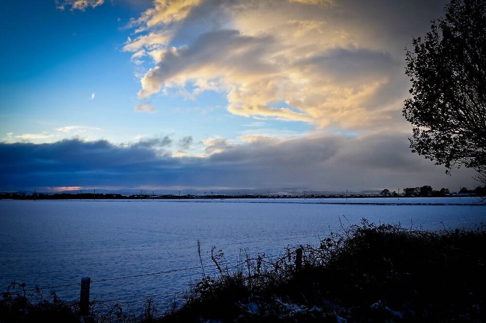 Winter In Scotland by Tristan Hopkins