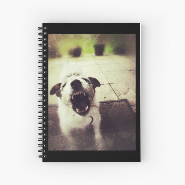 Angry Jack Russell Spiral Notebook