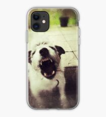 Angry Jack Russell iPhone Case