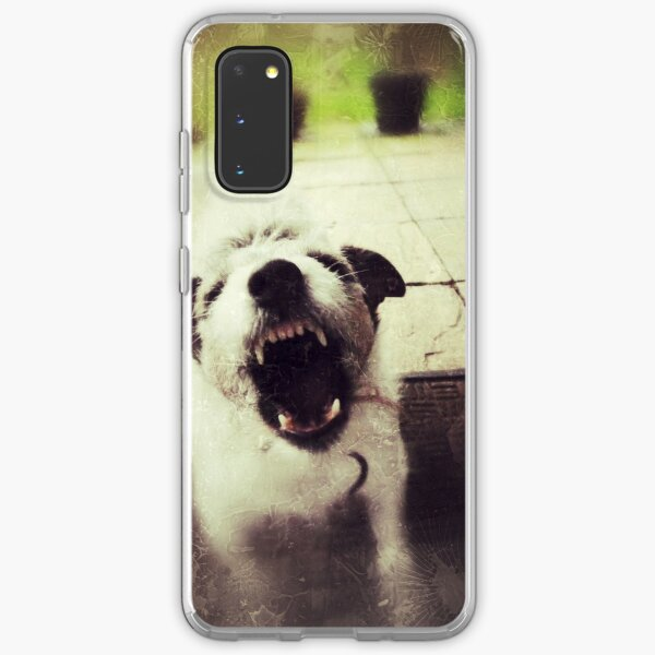 Angry Jack Russell Samsung Galaxy Soft Case