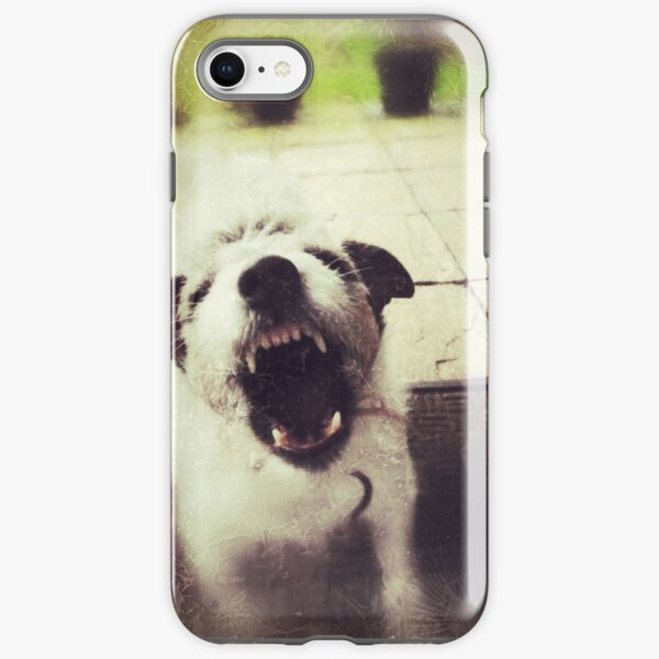 Angry Jack Russell iPhone Tough Case