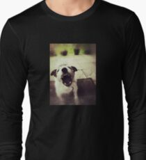Angry Jack Russell Long Sleeve T-Shirt