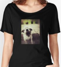 Angry Jack Russell Relaxed Fit T-Shirt