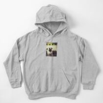 Angry Jack Russell Kids Pullover Hoodie