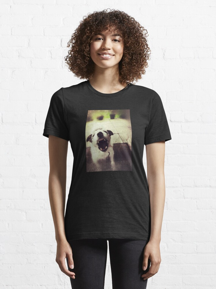 Alternate view of Angry Jack Russell Essential T-Shirt