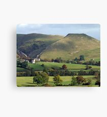 Thorpe Cloud in the sunshine Canvas Print