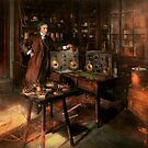 Steampunk - The time traveler 1920 by Michael Savad