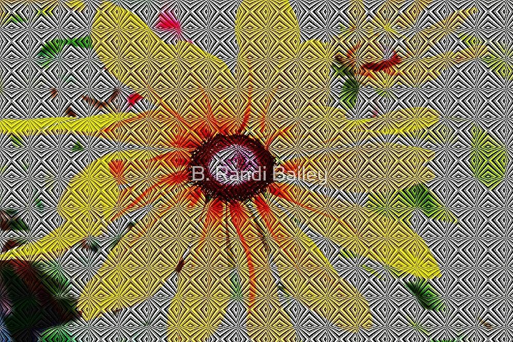 Yellow sunflower design by ♥⊱ B. Randi Bailey