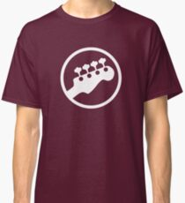 Bass Headstock T-shirt (Scott Pilgrim) Classic T-Shirt