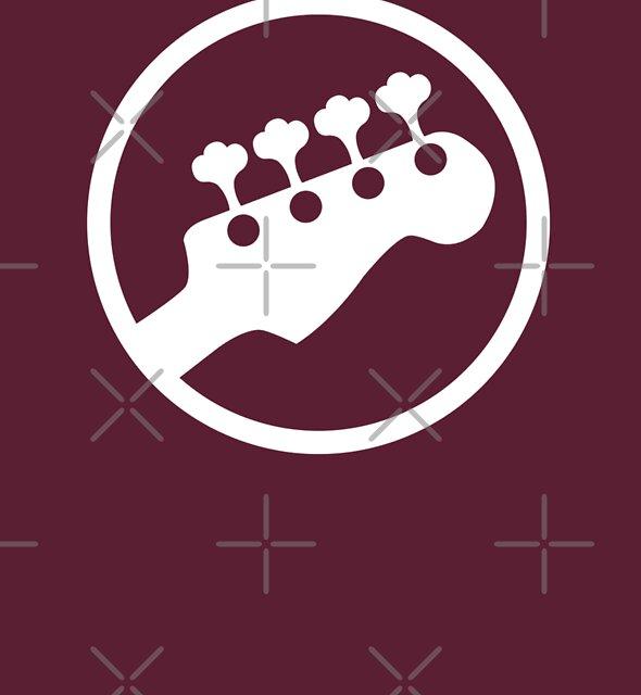 Bass Headstock T-shirt (Scott Pilgrim) by maclac