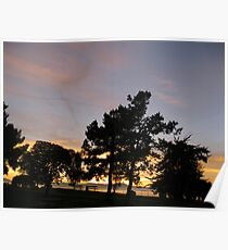 Come sit and watch the sun go down with me.  Poster