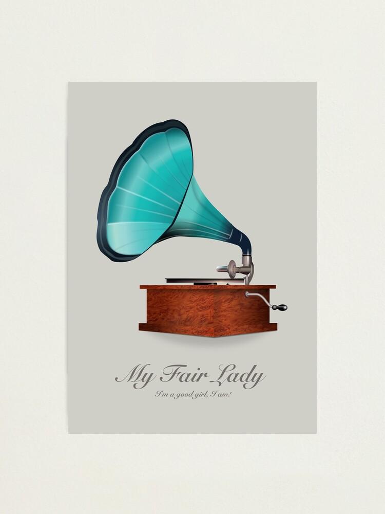 Alternate view of My Fair Lady - Alternative Movie Poster Photographic Print