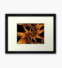 Trap the Light in Metal Framed Print