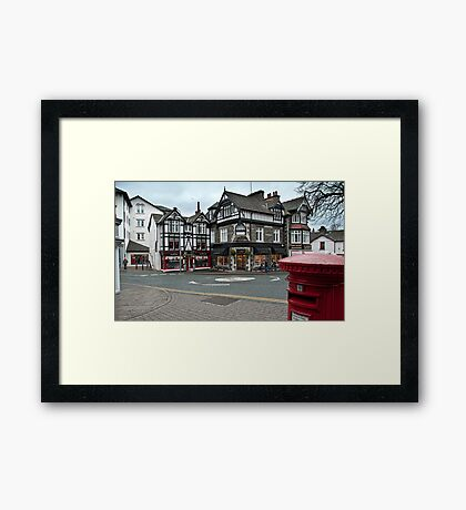 Bowness on Windermere Framed Print