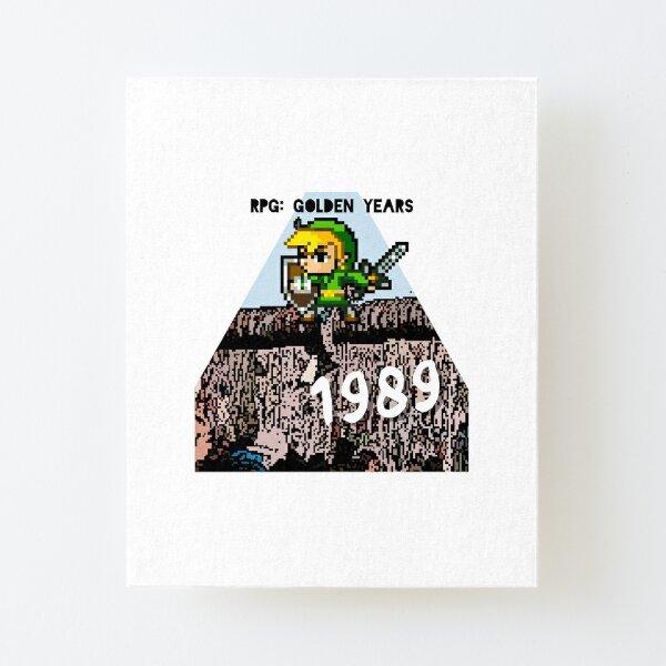 RPGGY 1989 Season 1 Logo Canvas Mounted Print