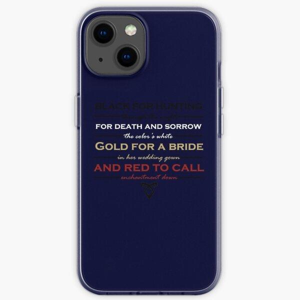 Shadowhunter children's ryhme iPhone Soft Case