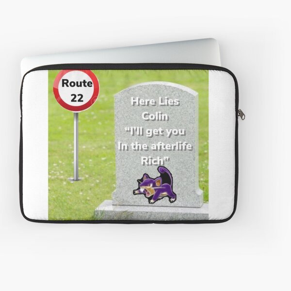 RPGGY RIP Colin Laptop Sleeve