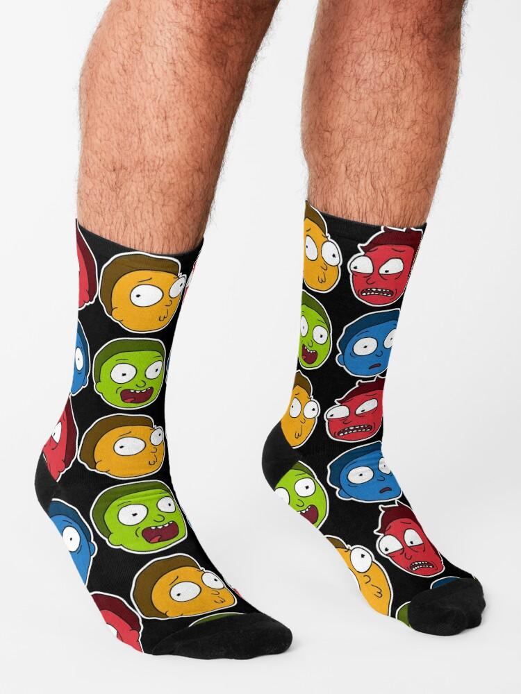 Alternate view of Morty Moods Socks