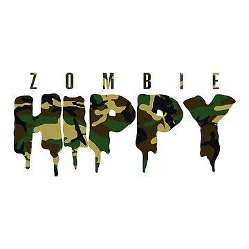 ZombieHIPPY • Logo Typeface CAMO Edition by ZombieHippy