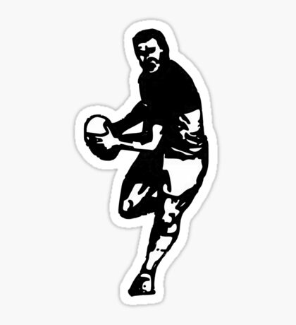 rugby t-shirt Sticker