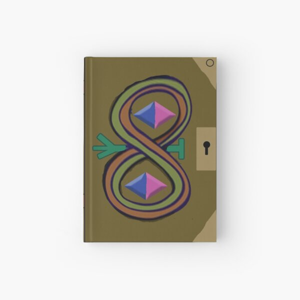 Star Butterfly's Magic Book Hardcover Journal