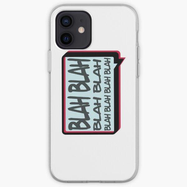 Blah iPhone Soft Case
