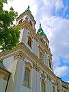 St Anne's in Budapest by Graeme  Hyde
