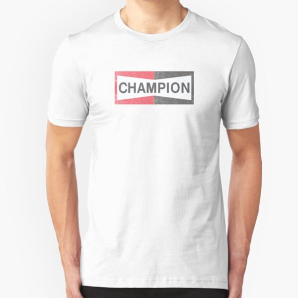 Jahrgang Brad Pitt Champion Slim Fit T-Shirt