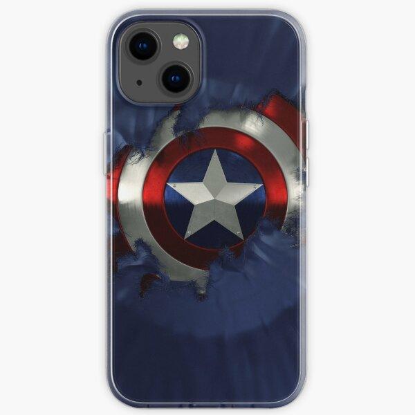 Captain A break through iPhone Soft Case