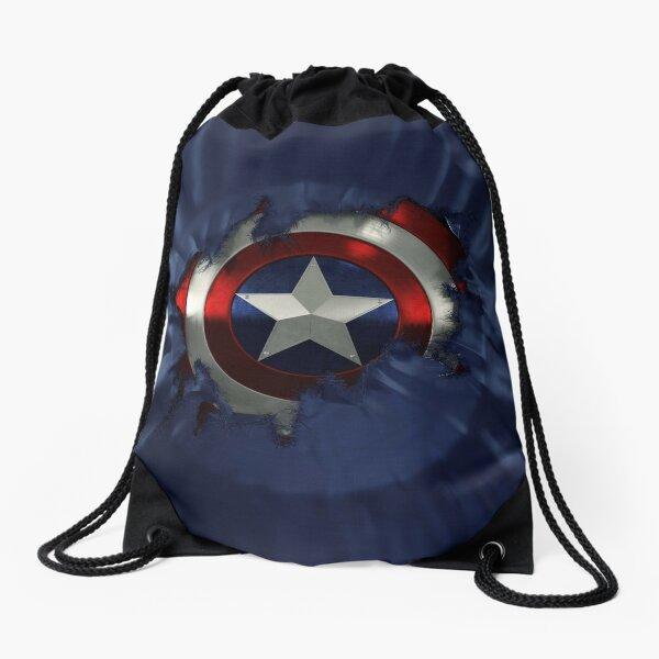 Captain A break through Drawstring Bag