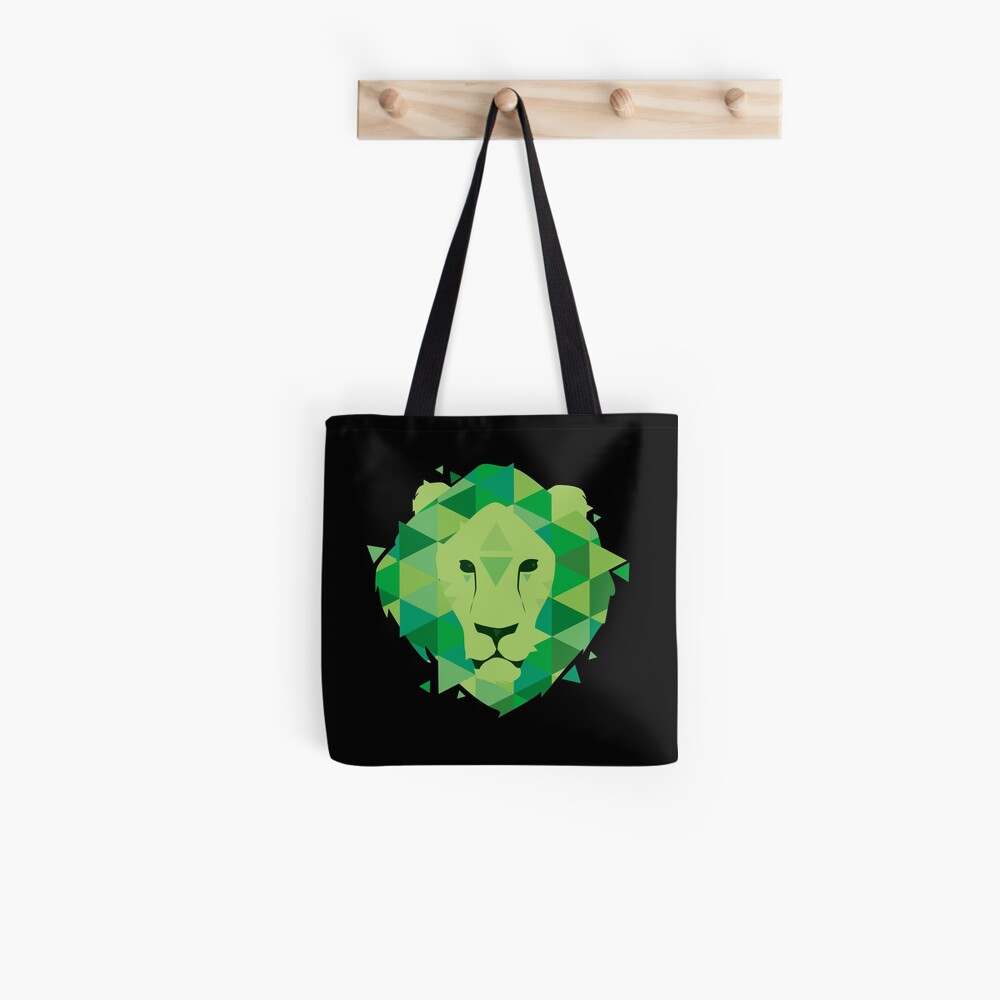 Tote bag « The Lion»