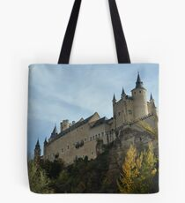 Alcazar de Segovia - Castle of Segovia Tote Bag