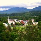 Vermont Village by Chelei