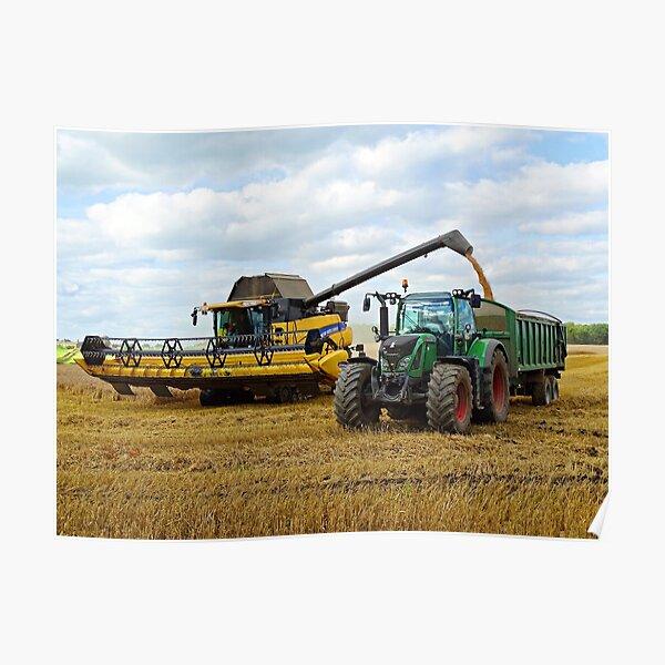 Modern Day Harvest Poster