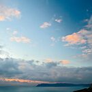 Devon Sky at Dusk by Michelle Lovegrove