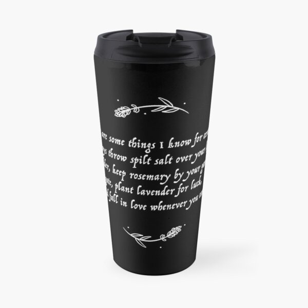 Luck & Love Practical Magic  Travel Mug