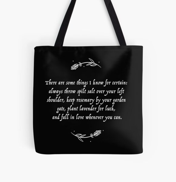 Luck & Love Practical Magic  All Over Print Tote Bag