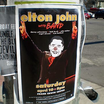 Elton Clown Austin Texas by paulbeck
