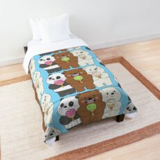 We Bare Bears Comforter