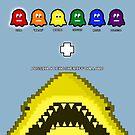 Super Shark + Ghosts Arcade by technoqueer