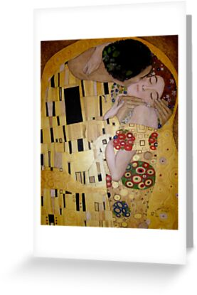 'The Kiss' - A tribute to Klimt by Gary Latimer