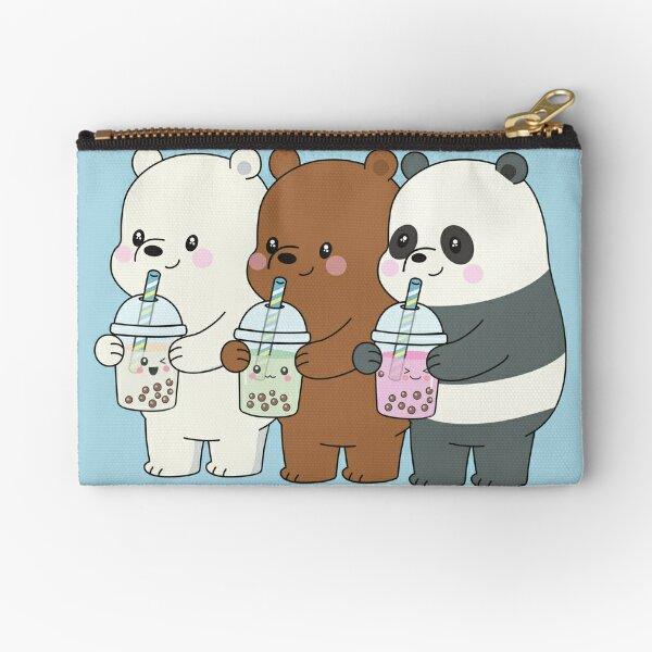 We Bare Bears Zipper Pouch