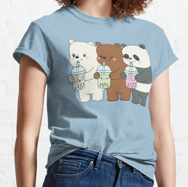 We Bare Bears T-shirt classique
