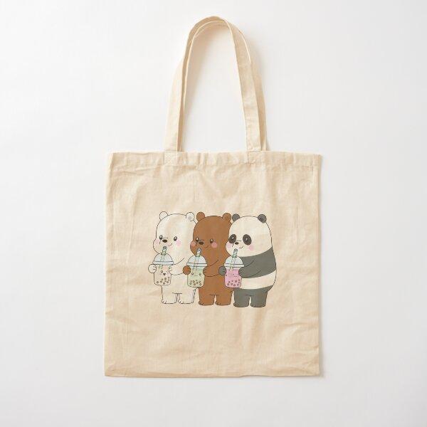 We Bare Bears Cotton Tote Bag