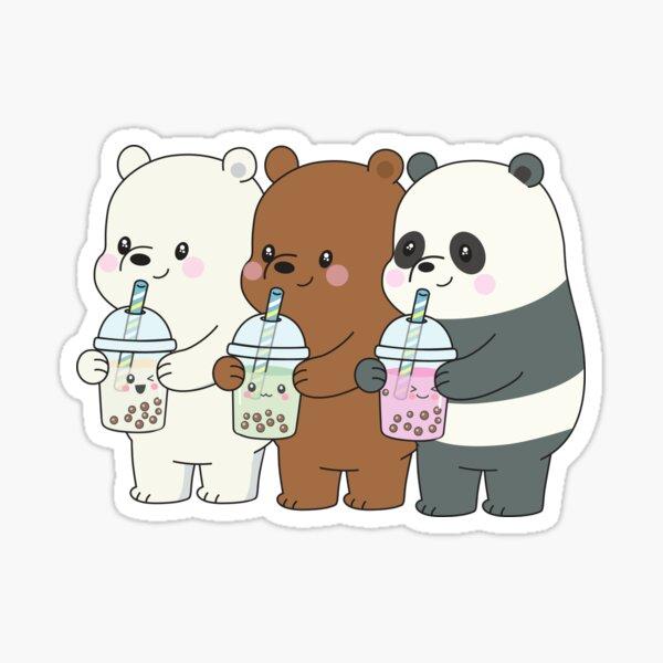 Wir entblößen Bären Sticker