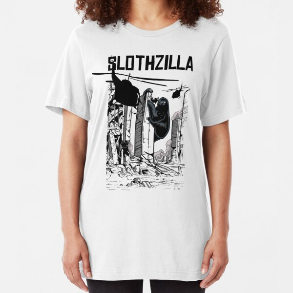 Slothzilla Slim Fit T-Shirt